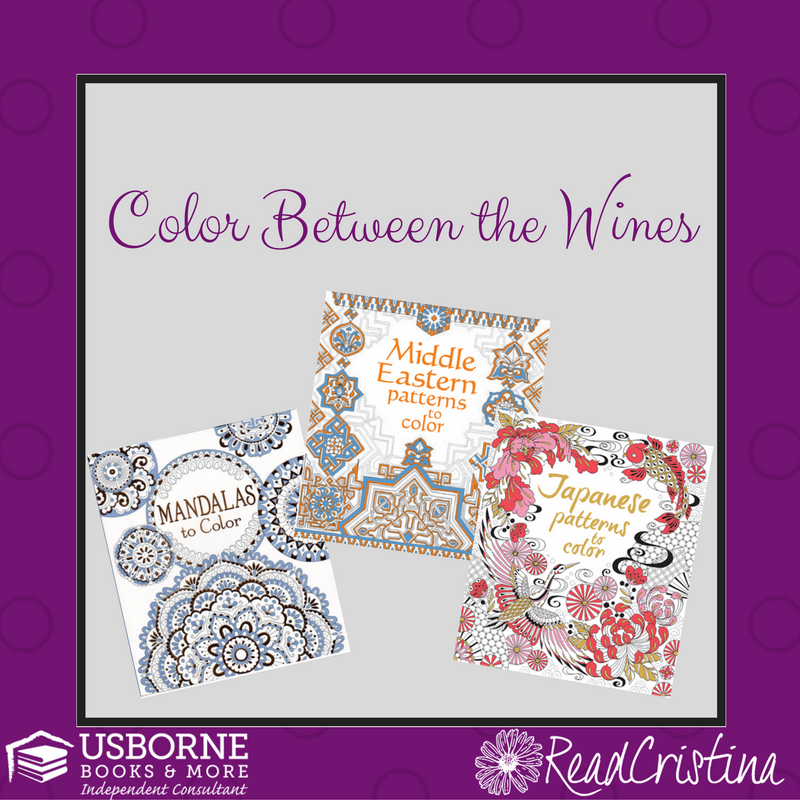 5 Reasons to host an Usborne Coloring between the Wines Party!