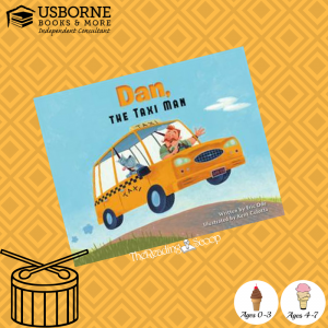 Book Reveiw of Dan the Taxi Man by the Reading Scoop