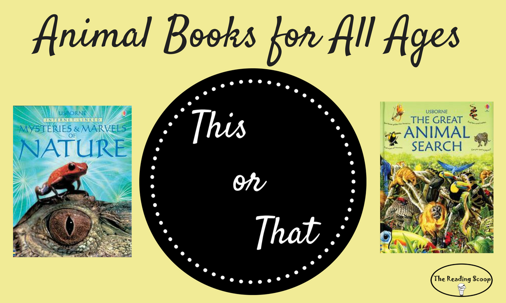 This or That? Animal Books for All Ages