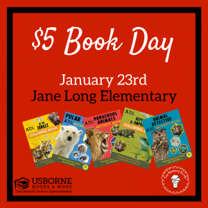 5 Tips to Rock your $5 Book Day