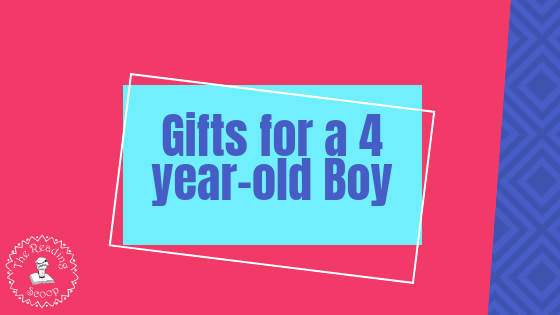 Gifts for a 4-year old boy