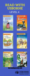 Level 4 Read with Usborne, Usborne Books & More Early Readers, Find out more at http://thereadingscoop.com
