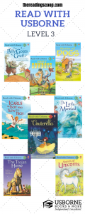 Level 3 Read with Usborne, Early Readers Usborne Books & More, Find more at http://thereadingscoop.com