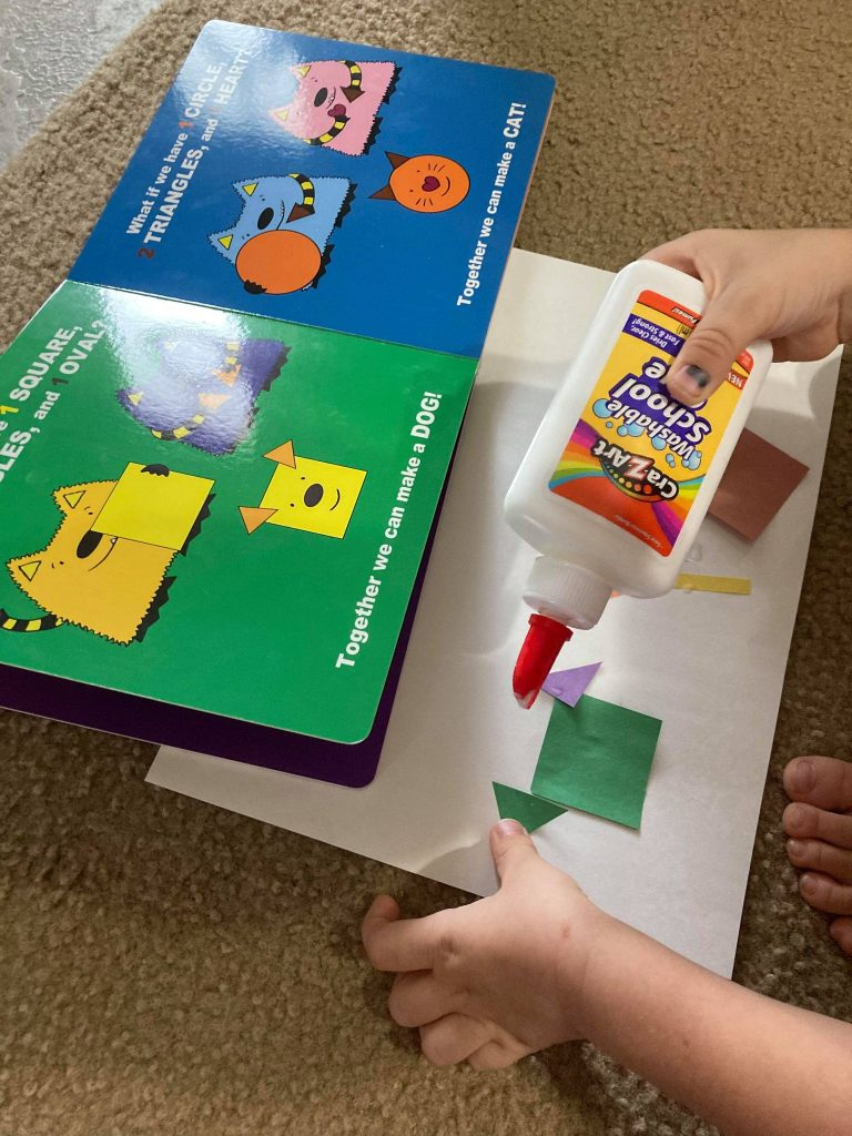 Interactive Shapes Book
