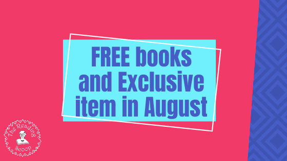 Free Books plus Host Exclusive in August